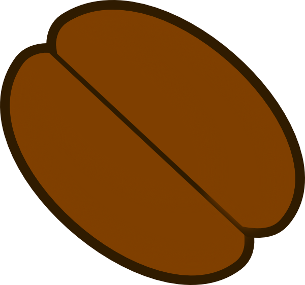 clipart freeuse library Bean drawing clip art.  collection of cocoa