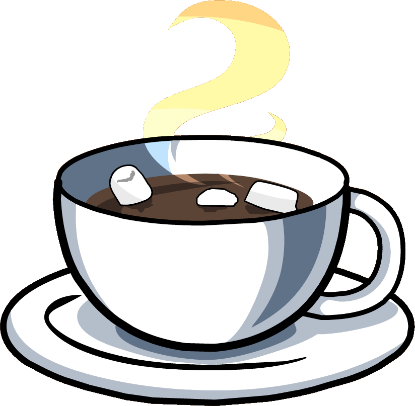 clip royalty free library Coffee and cookies clipart. Image hot chocolate cup