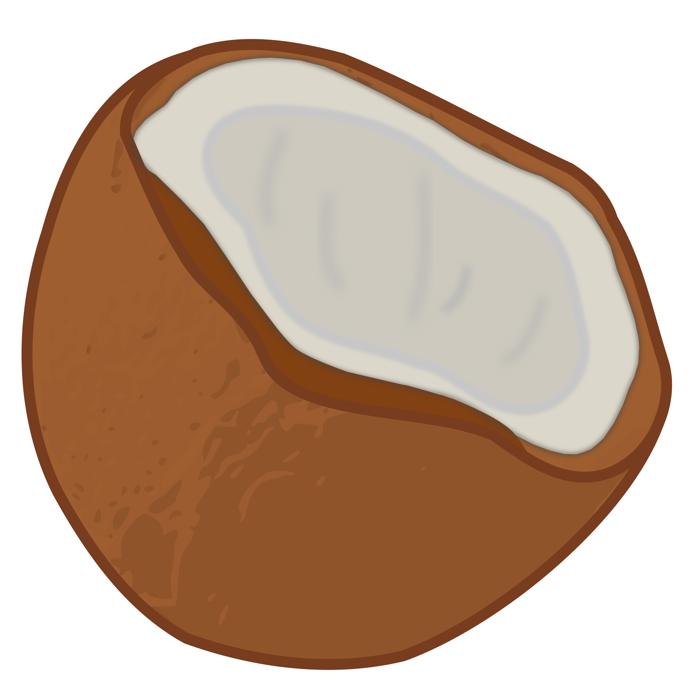 graphic library library Coconut clipart. Big image png