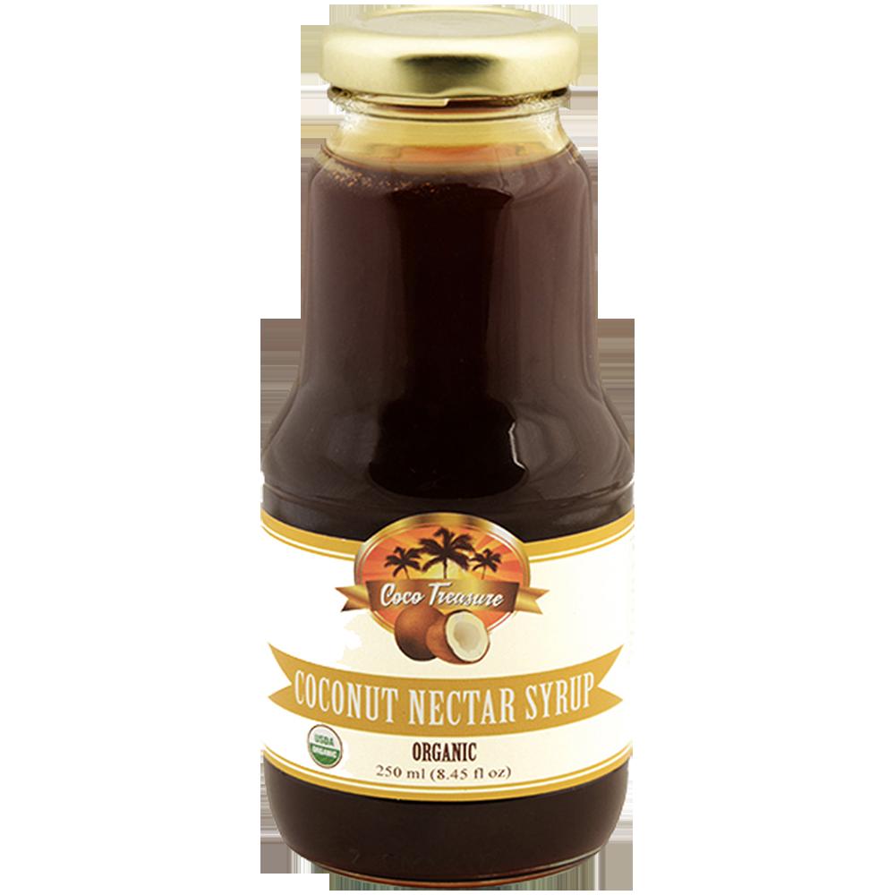 clip art stock Nutritious Organic Coconut Nectar Syrup
