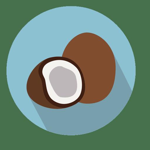 picture transparent download Coconut circle icon