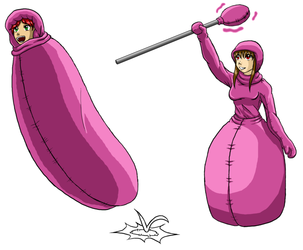 jpg library stock Snuggie Queen And Cocoon Commission By Tf Circus by silva