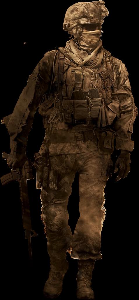 svg transparent download CoD Soldier