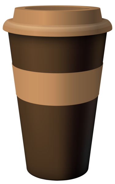 image library Coffee clipart. Brown hot cup png