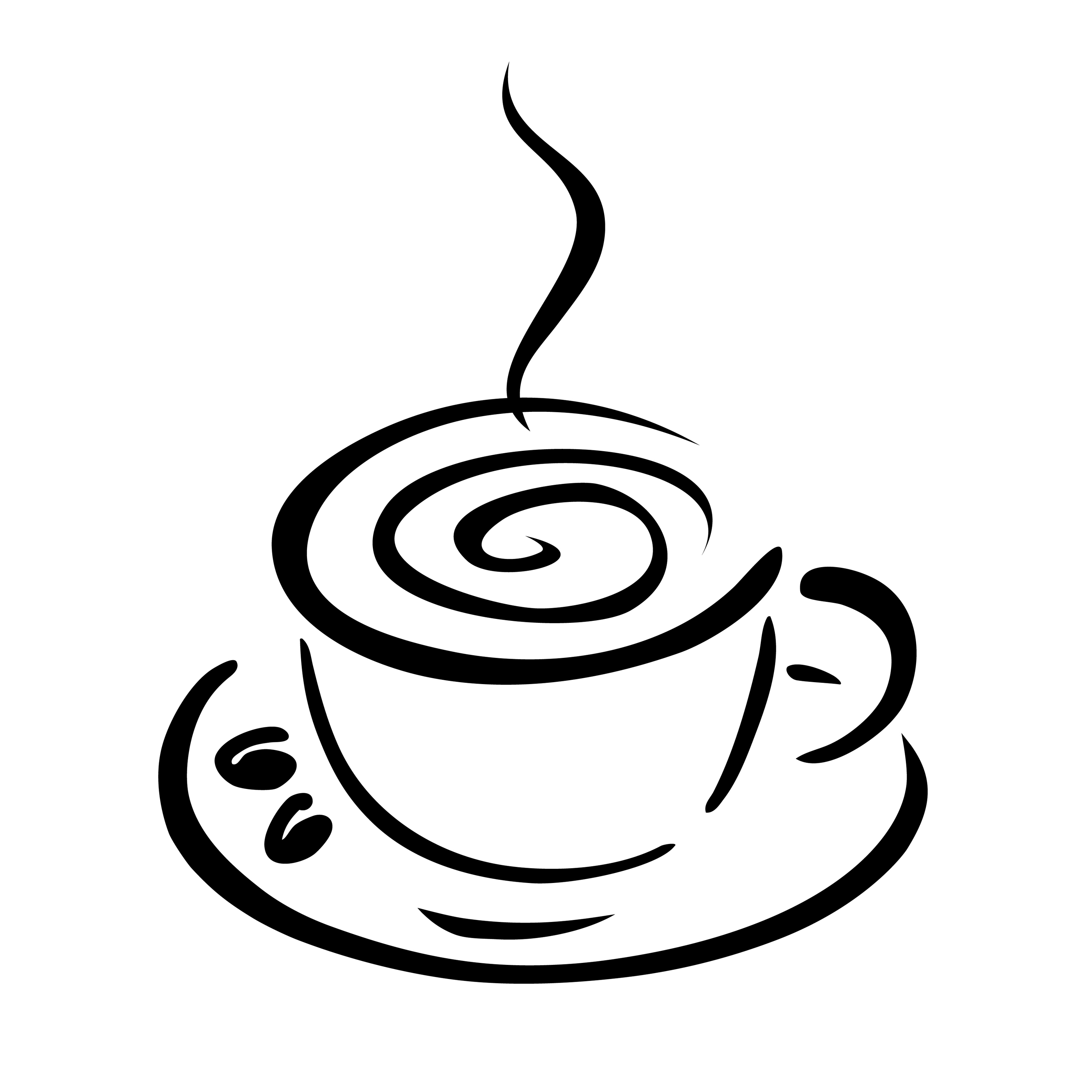 banner royalty free download Free cliparts download clip. Vector coffee black and white