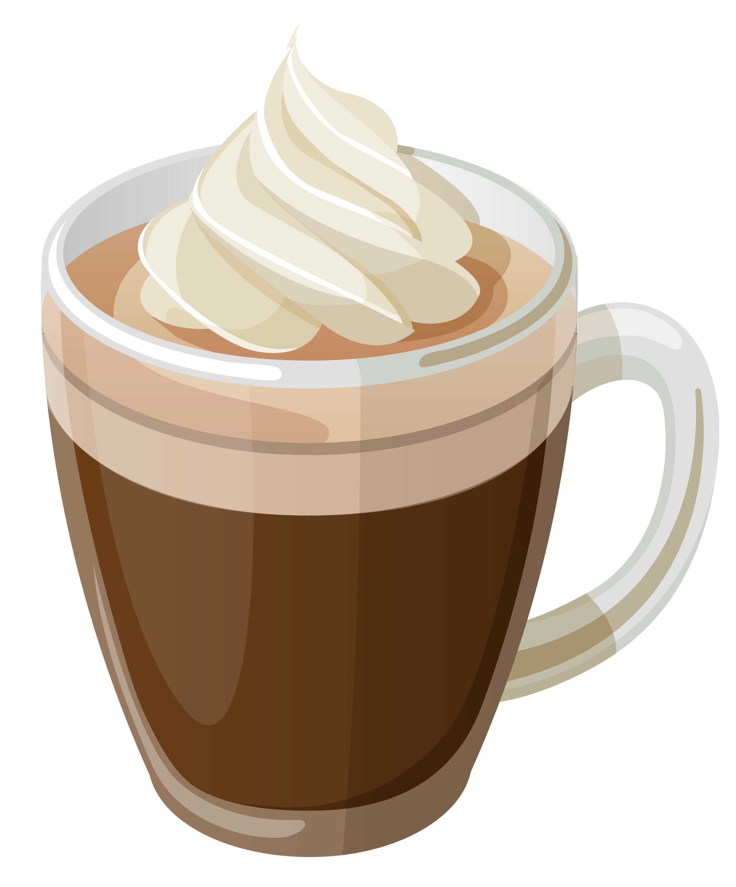 vector royalty free download Coffee clipart free. Cream and