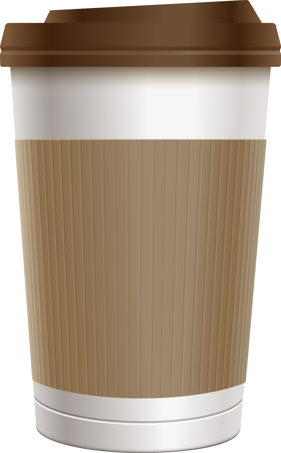 jpg freeuse Coffee cup clipart free. Adobe illustrator paper clip