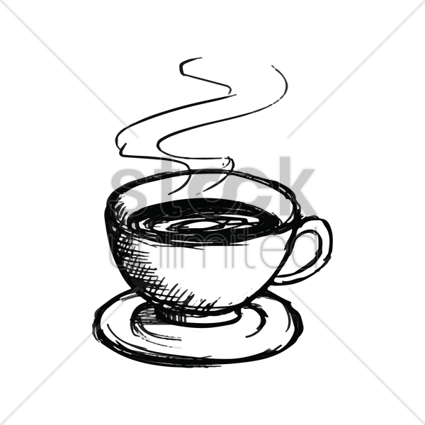 free stock Of drawing at getdrawings. Coffee cup with steam clipart