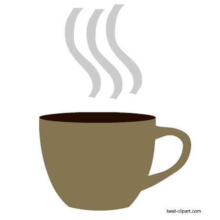 png free download Free mugs and beans. Coffee cup with steam clipart