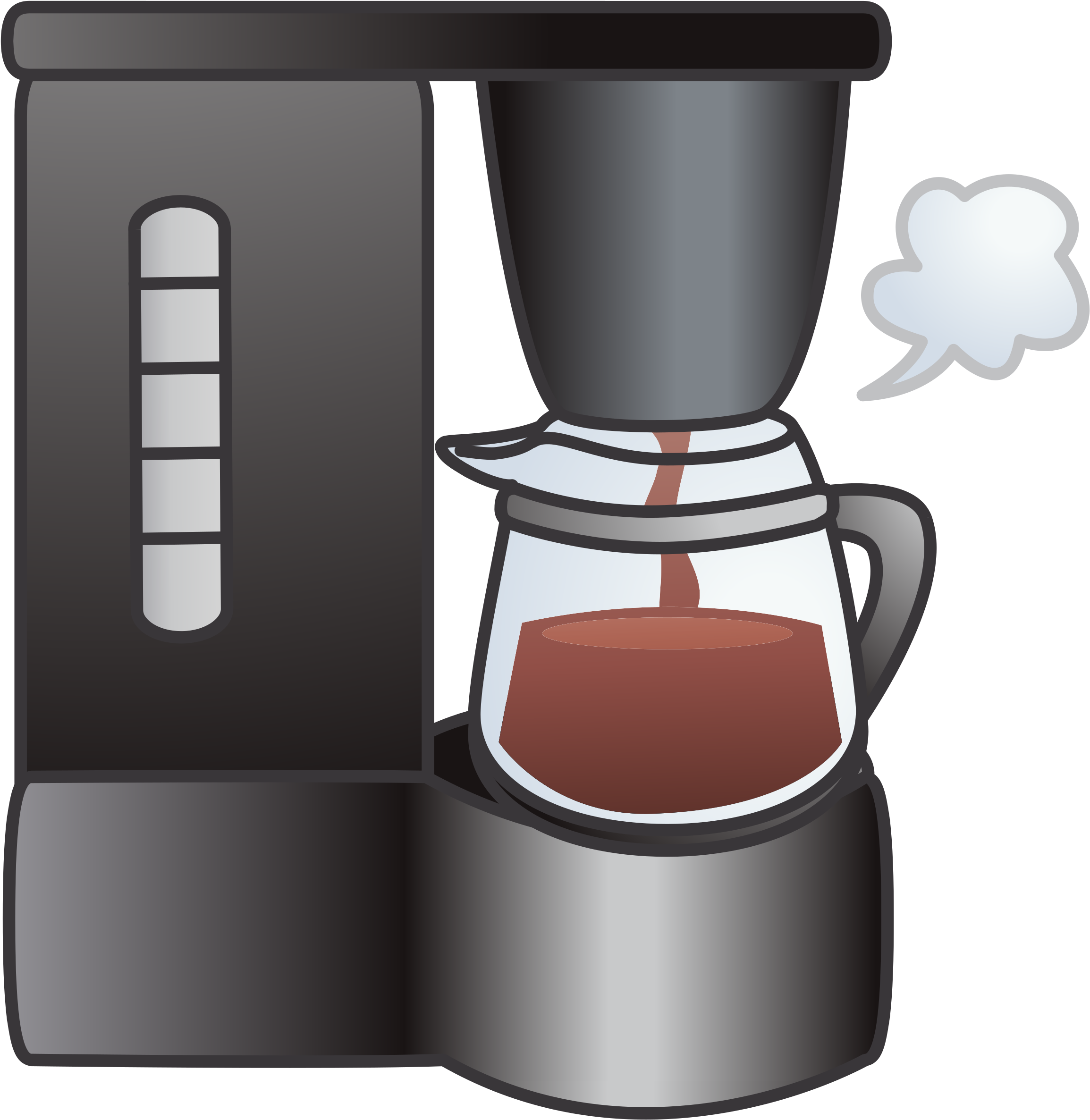 black and white download Image global market share. Coffee maker clipart