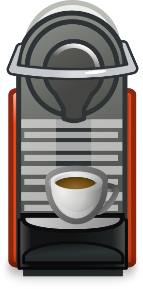 clipart free Machine clip art at. Coffee maker clipart
