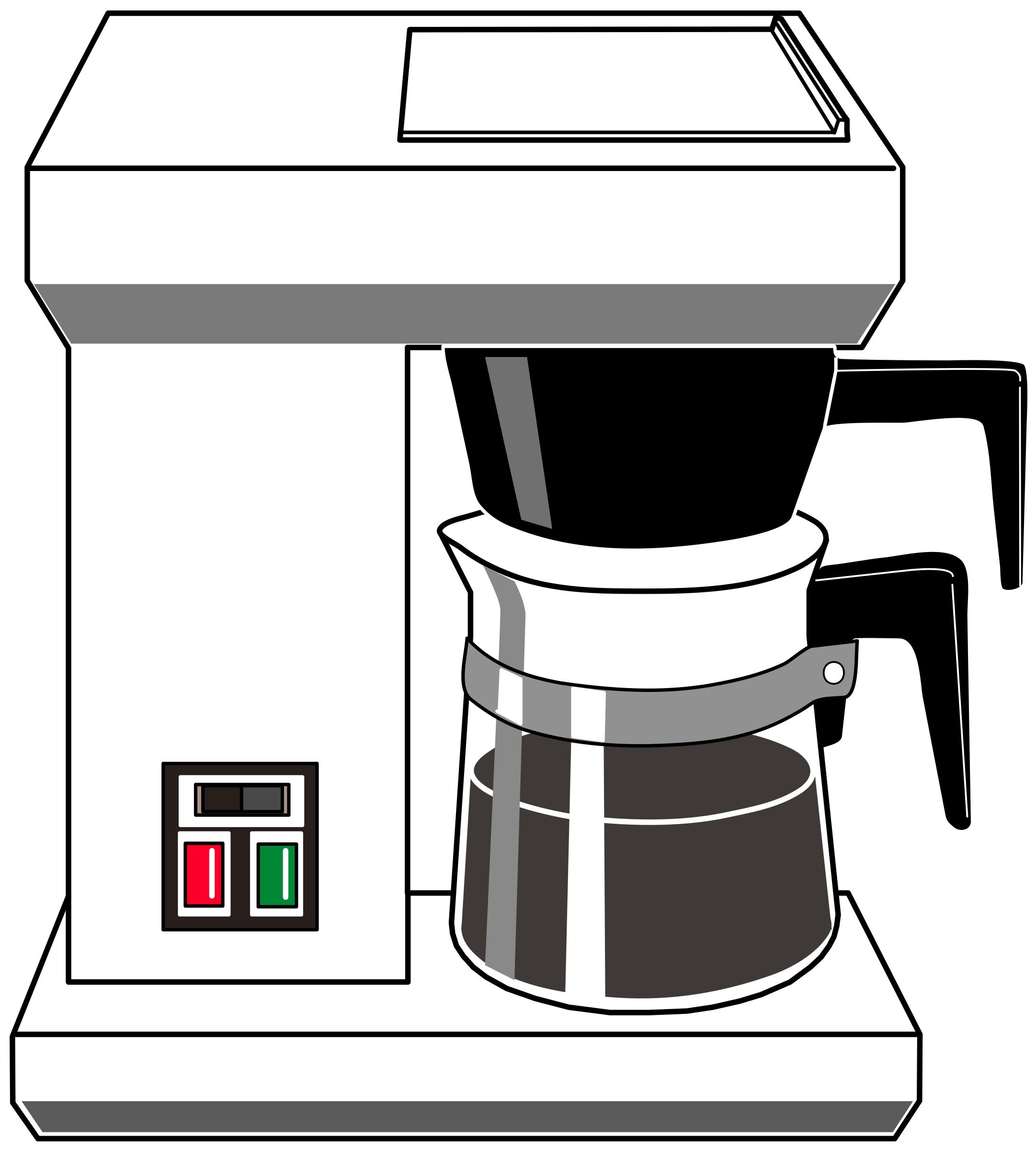 png transparent download Coffee maker clipart. Drip big image png