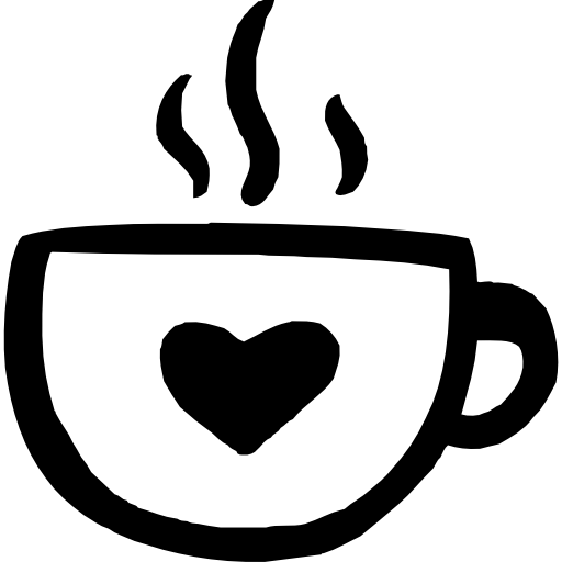png free Coffee mug with heart clipart. Food icon page