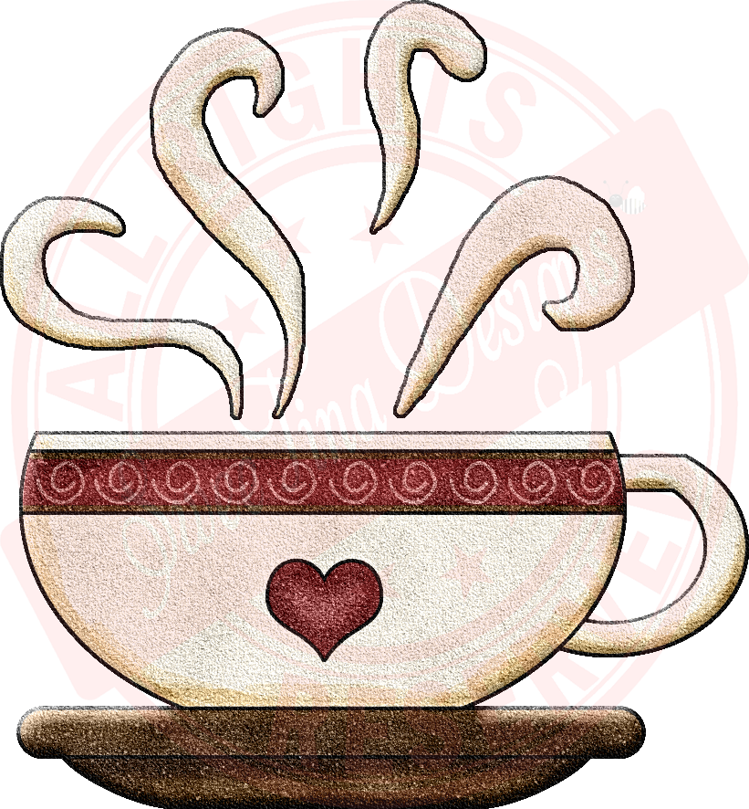 image freeuse library Time cup sweetina designs. Coffee mug with heart clipart
