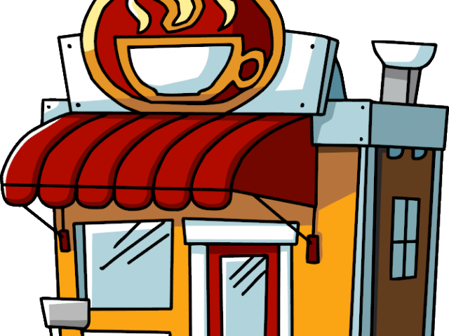 clip transparent download Coffee shop clipart free. X carwad net