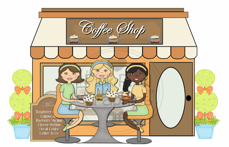 banner freeuse download Cliparts download clip art. Coffee shop clipart free