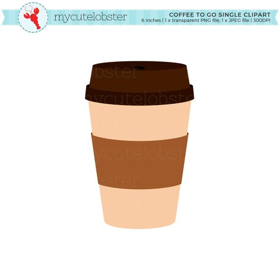 graphic transparent Single cup personal use. Coffee to go clipart