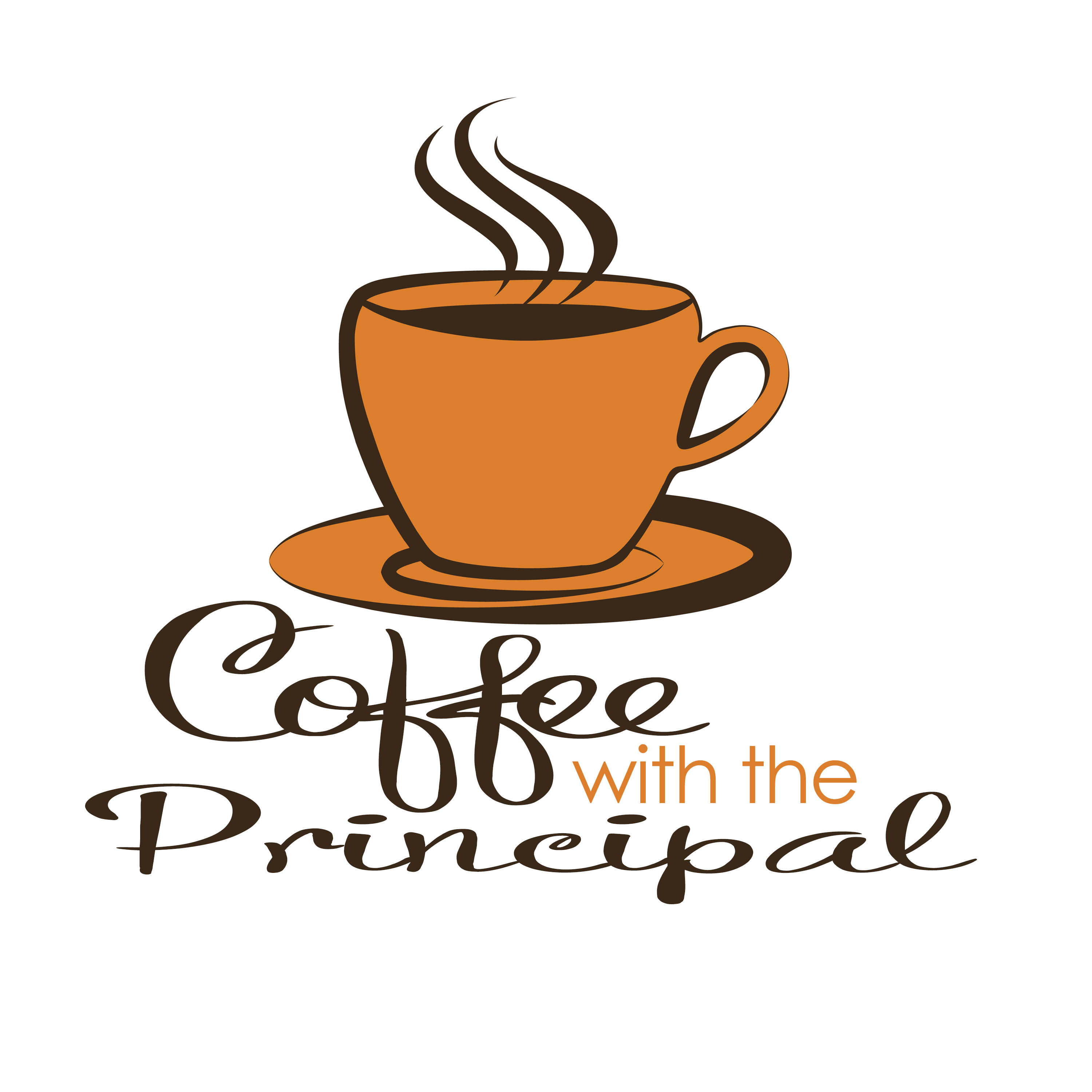 image stock Portal . Coffee with the principal clipart