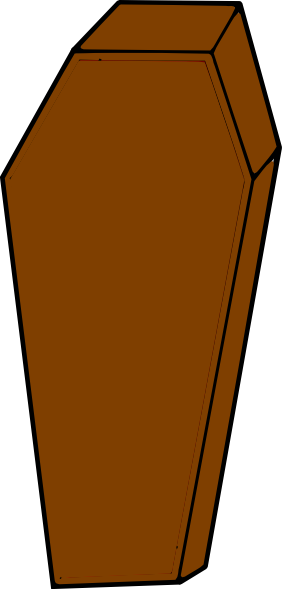jpg royalty free download Coffin Clip Art at Clker