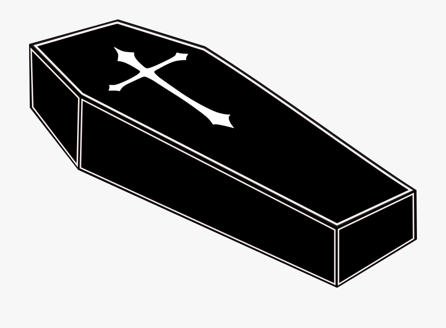 transparent download Parcel free cliparts on. Coffin clipart.