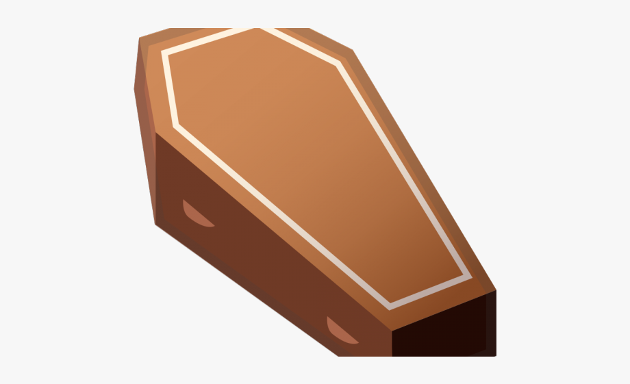 svg black and white Coffin clipart. Wood box emoji png.