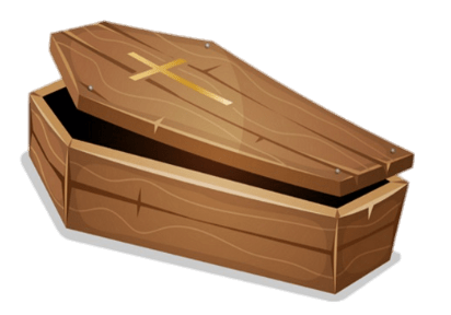 picture royalty free stock Coffin clipart. Transparent png stickpng.