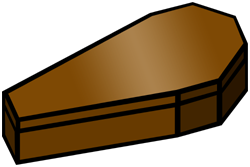 clipart free stock Coffin clipart.
