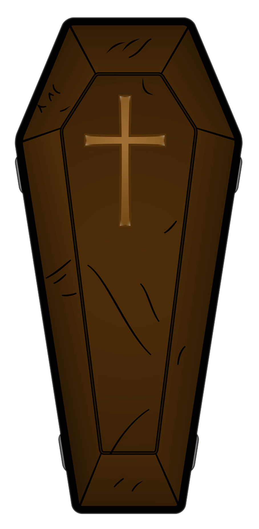 clip library stock Vampire transparent coffin. Halloween brown png picture
