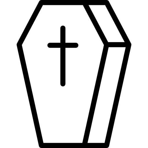 svg royalty free download Christian Coffin