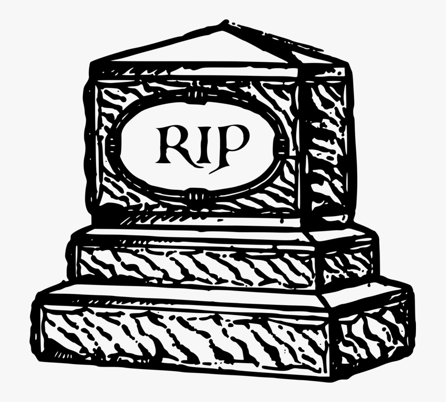 banner royalty free library Rest in peace grave. Headstone clipart funeral