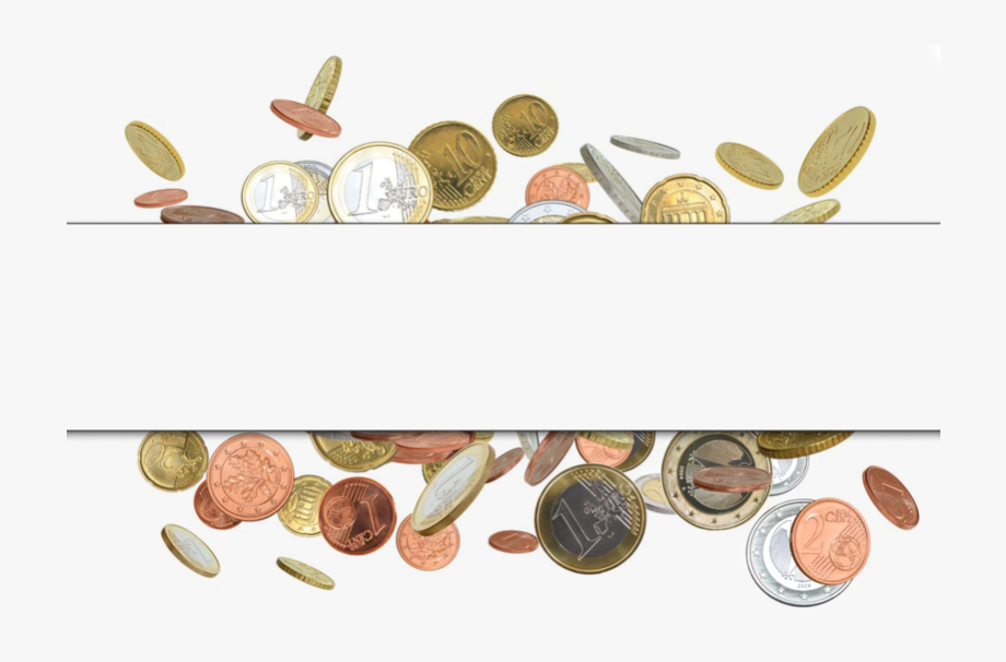 banner library Coin border clipart. Money finance gold free