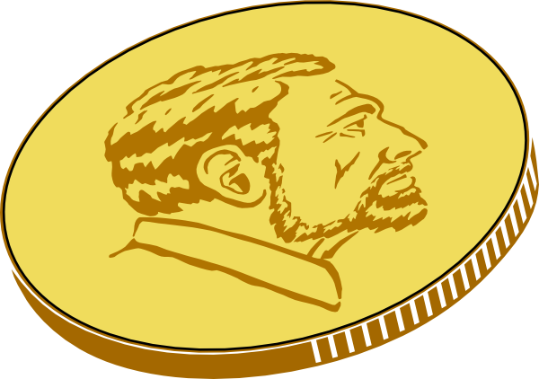 png royalty free library Gold clip art at. Coin clipart