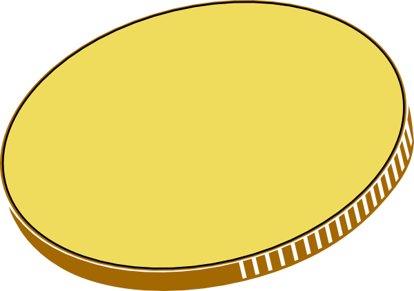 jpg freeuse stock Coin clipart. Gold
