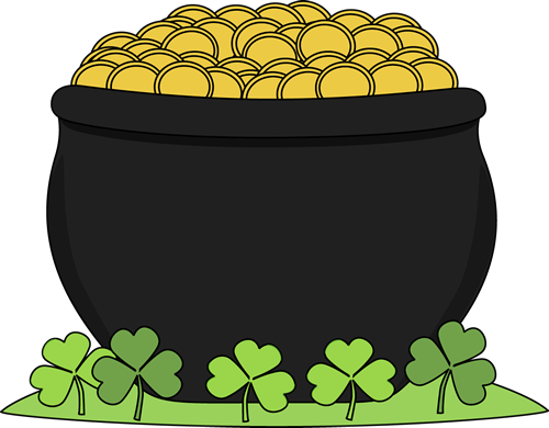 banner free download St patrick day pot of gold saint patricks day clip art saint