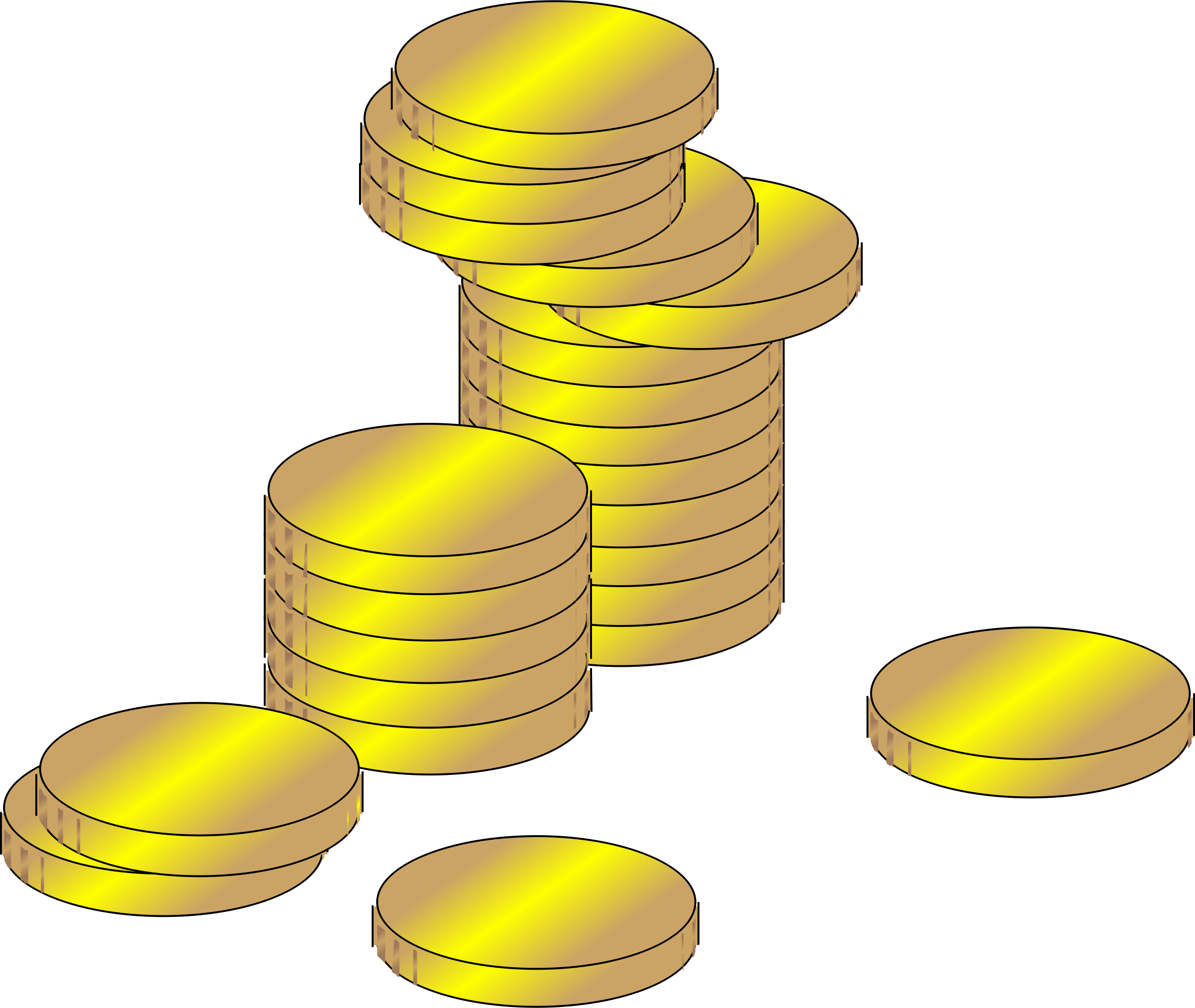 picture transparent stock Coins clipart. Gold coin free on