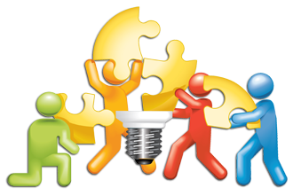 svg free library Team teamwork free on. Collaboration clipart.