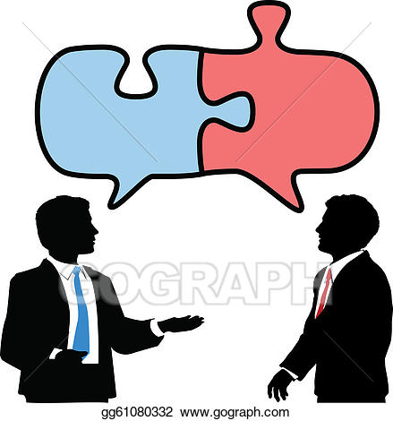 clipart transparent library Vector stock business people. Collaboration clipart collaborative conversation
