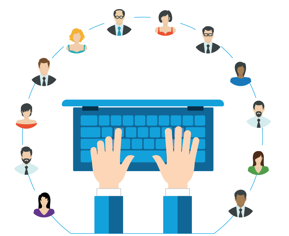 clip transparent Solutions sight communications provides. Collaboration clipart collaborative conversation