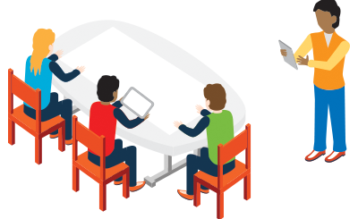 graphic free download Collaboration clipart collaborative conversation. Innovative technology in education