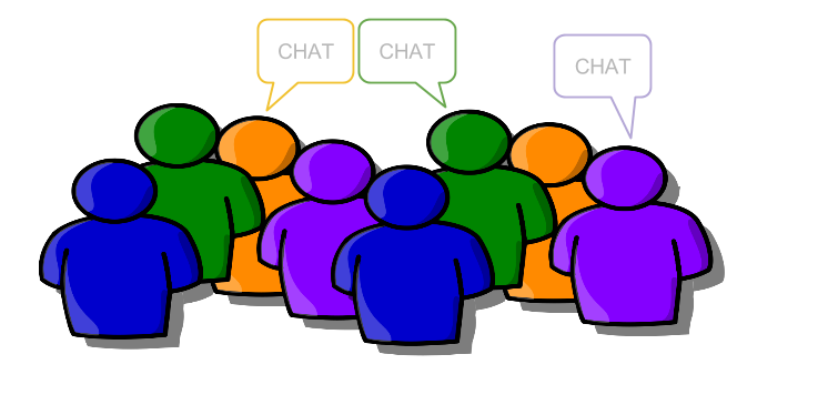 png transparent download The kinds of google. Group clipart group conversation