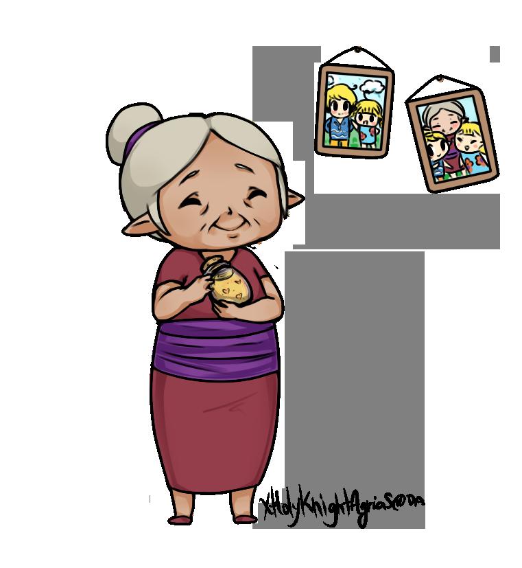 freeuse Grandma