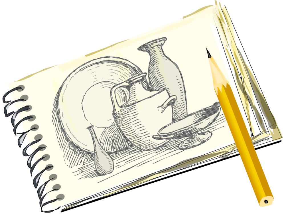 banner free Pencil line art free. Drawing randomizer sketchbook