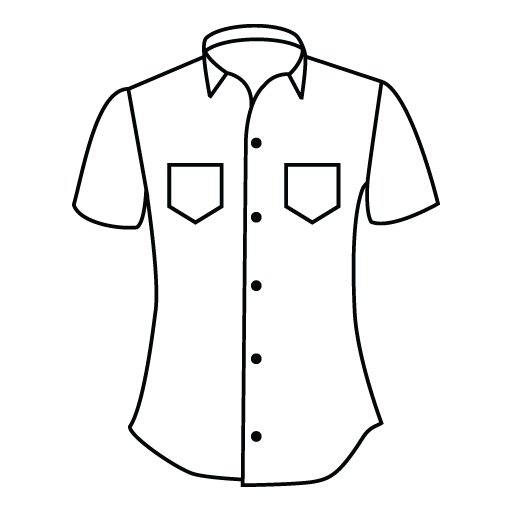 clip art black and white Custom made and suits. Drawing shirts blouse