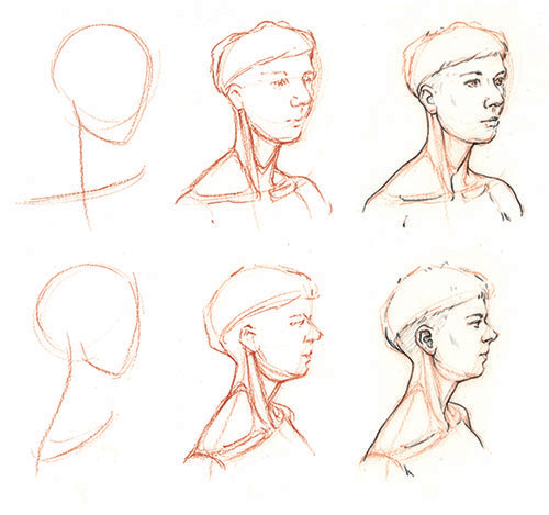 svg library download How to draw the neck and shoulders with Jake Spicer