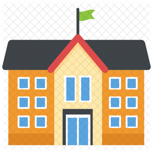 svg freeuse library School Icon