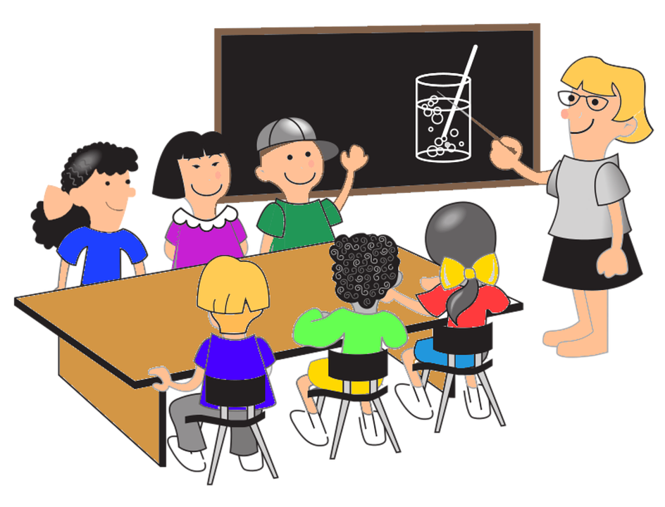 banner black and white download Teacher teaching class clipart. Your multicultural classroom the
