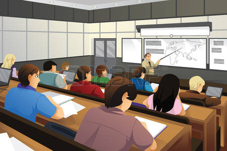 clipart free download Students in station . College classroom clipart.