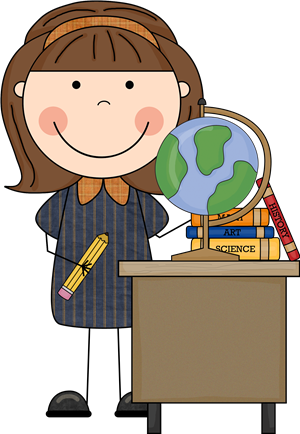 picture black and white library College classroom clipart. Teacher miss png stick.
