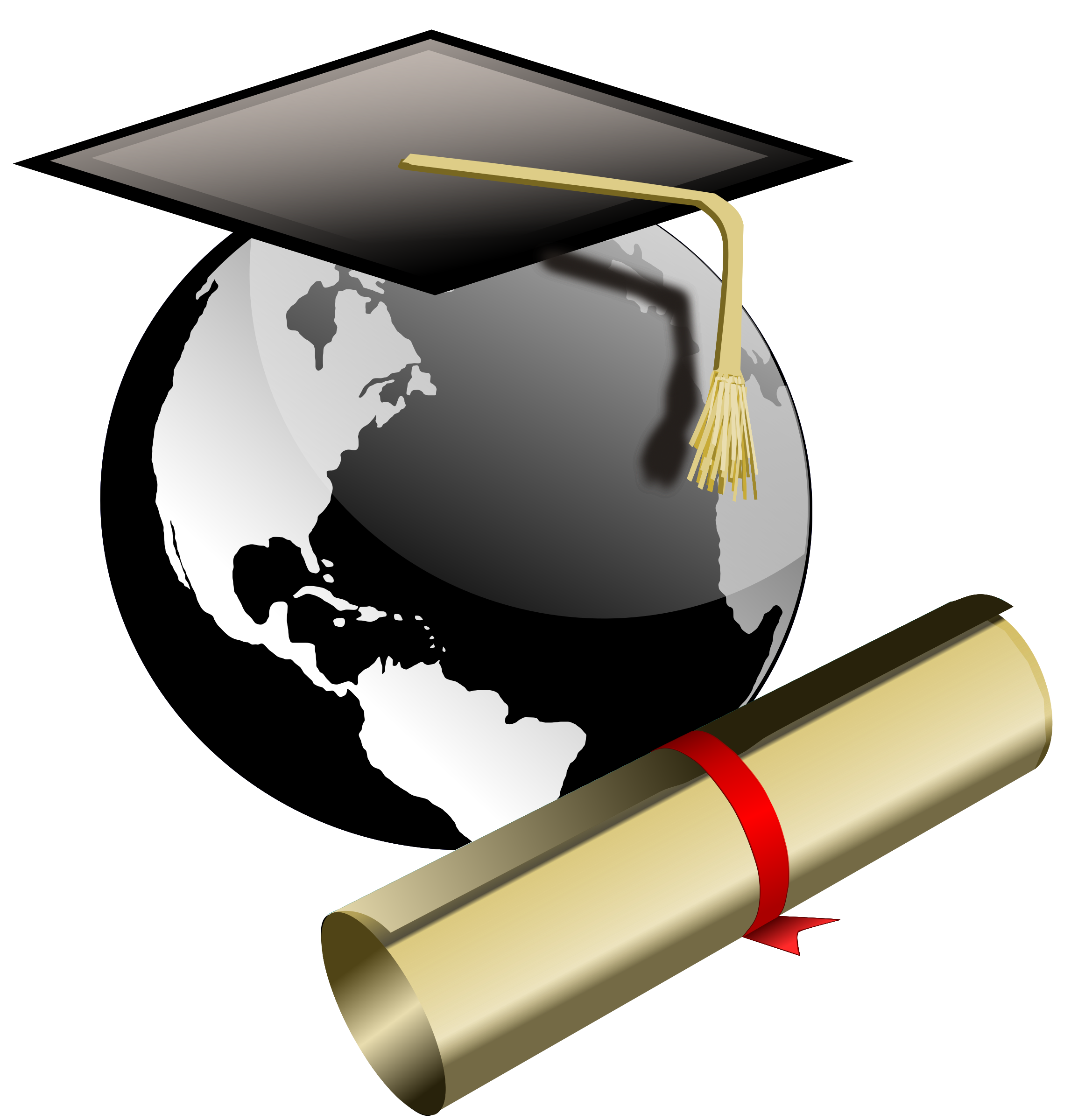 svg transparent library Halo clipart student.  collection of degree
