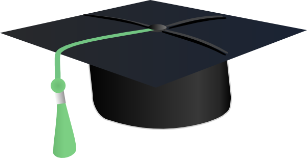 svg black and white College Graduate Clipart
